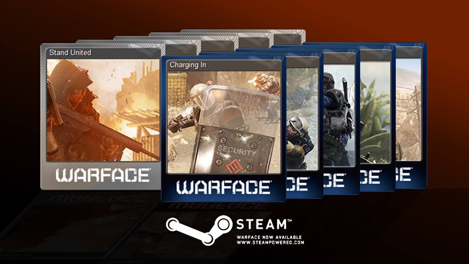 Warface Steam Sammelkarten
